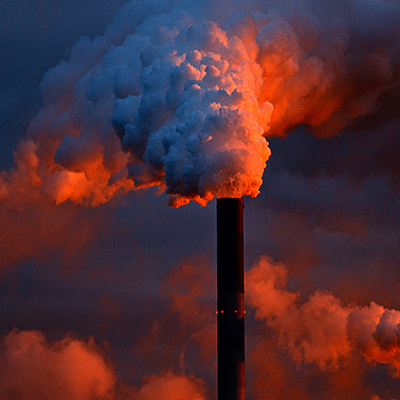 Steam Sunset - Carbon Capture Storage