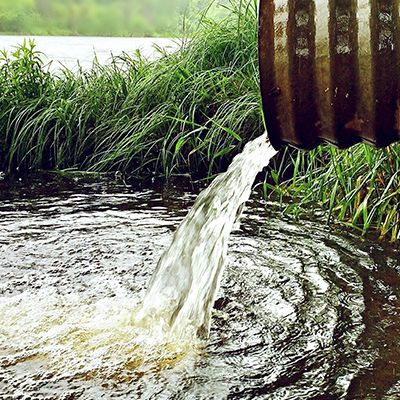 Water pipe - environmental water management