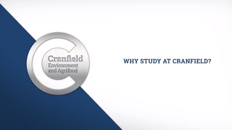 Why study at Cranfield